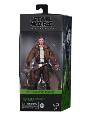 Star Wars The Black Series 2020 Return of the Jedi Han Solo Endor Action Figure - Pre-order